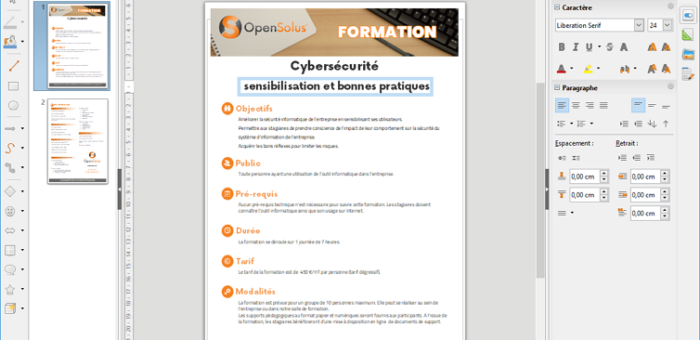 Editer ses fichiers PDF avec LibreOffice